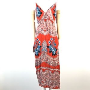 angie dress rayon boho floral